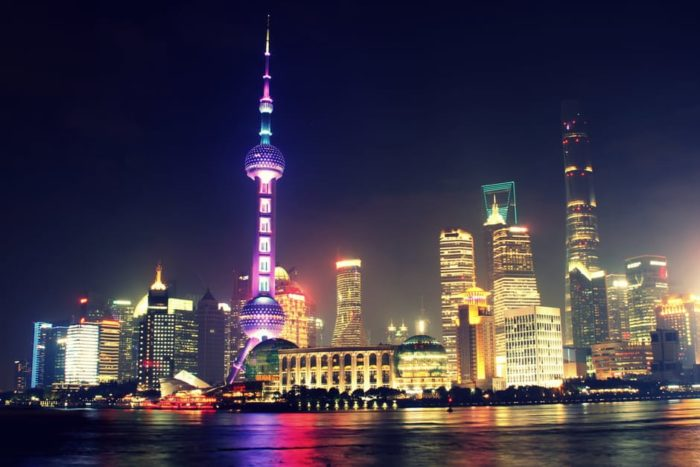 Geschäftsreise in China